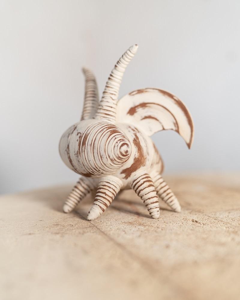 antelope horned bug by ceramic artist jon williams